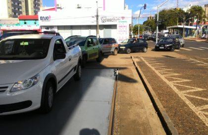 fila em posto de Cascavel - Leandro Souza