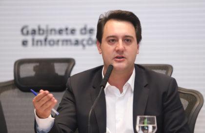 Governador Carlos Massa Ratinho Junior durante reunião com a equipe de governo. Curitiba,29/01/2019 - Foto: Rodrigo Felix Leal/ANPr