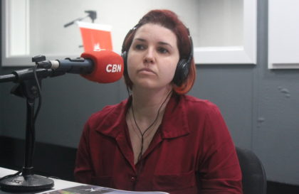 2019 09 28 CBN Linha Aberta - Andressa Cristine Roman Costa