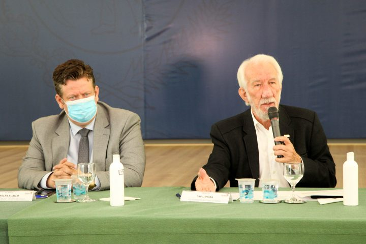 Reunião Vice-Governador.Foto: Ari Dias/AEN.