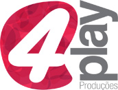 Logo 4play - Produção e Eventos
