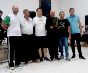 André Andreolli (no centro da foto)