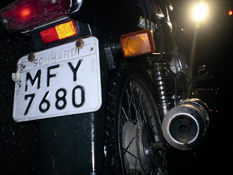 Acidente mata motociclista não identificado na BR-476