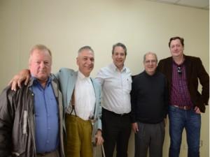 Pré-candidatos de São Mateus do Sul se reúnem com o Ministro das Comunicações