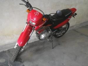 Moto recuperada em Paulo Frontin