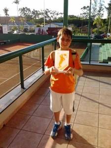 Tênis de Campo de Porto União é destaque em Torneio Estadual