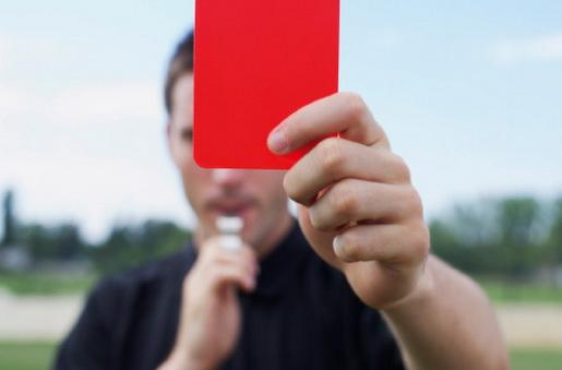 Resultado de imagem para cartao vermelho