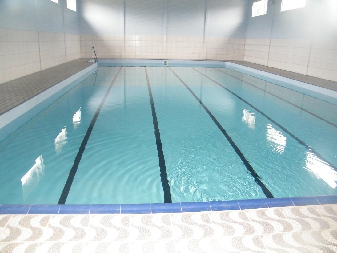 Moradores de cruz machado ganham piscina semi ol mpica for Piscina olimpica