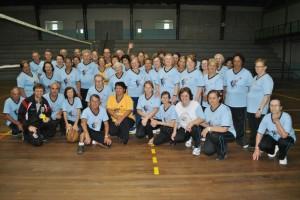 Terceira Idade encerra atividades esportivas em 2012