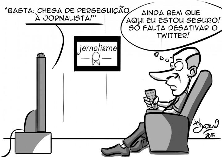 Charge Jornalismo