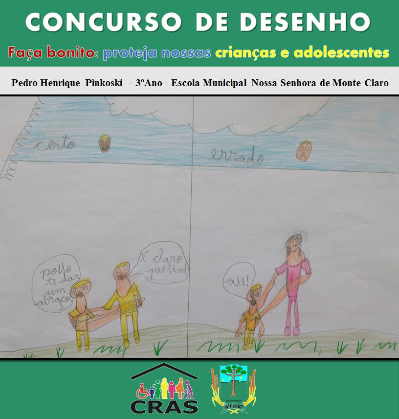Concurso De Desenhos E Frases Conscientiza Sobre A Violência Contra