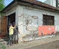 Verônica e Darci desde 2012 firmaram residência em casa da antiga Rede Ferroviária