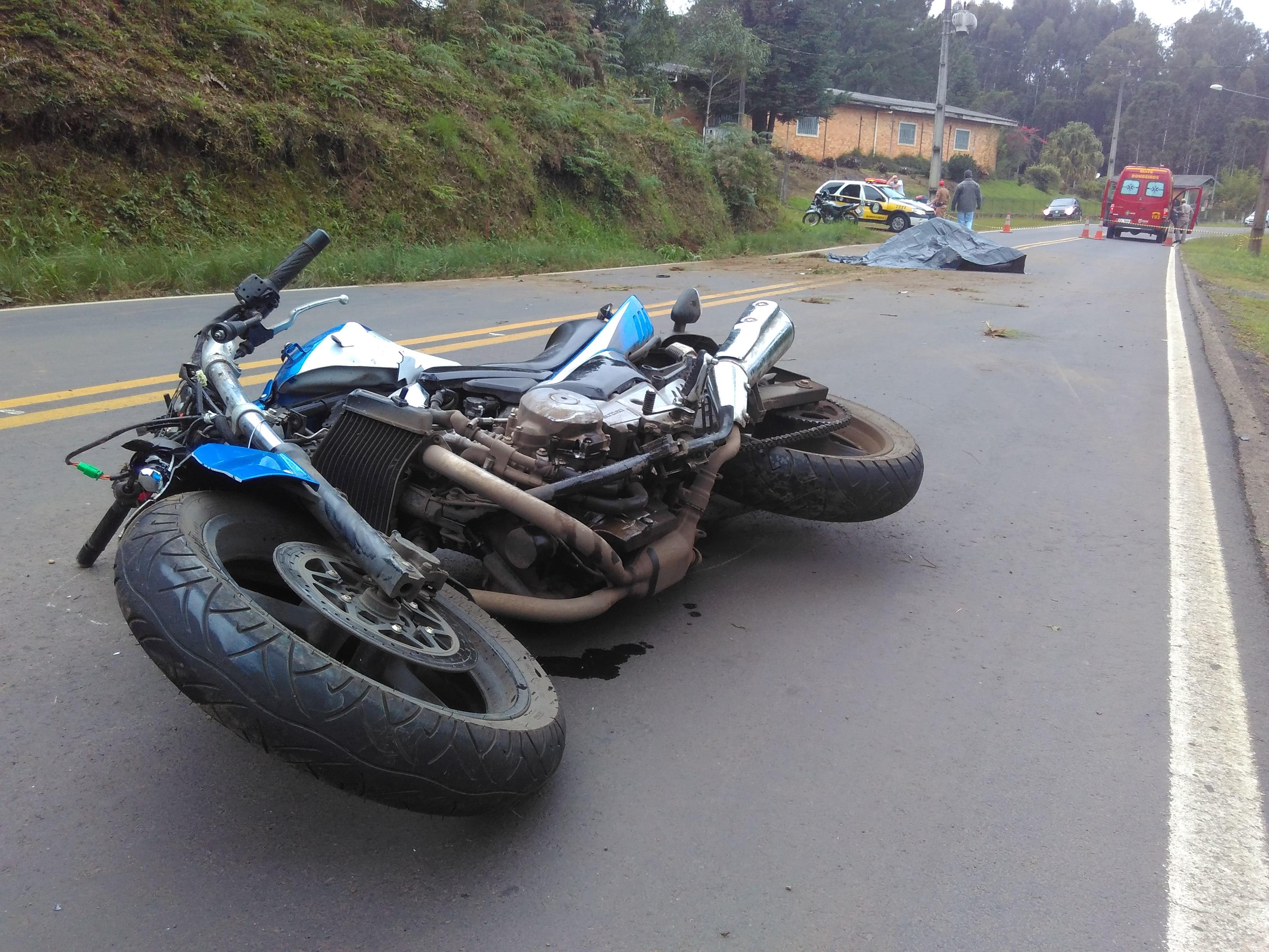 8a69aa613 Ciclista morre em acidente com moto na PR-466 - Segurança - Vvale