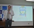 Palestra proferida pelo Secretário de Estado do Desenvolvimento Econômico  Sustentável de Santa Catarina, Carlos Chiodini