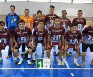 EEB Cid Gonzaga de Porto União, venceu no futsal masculino