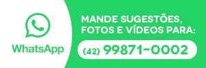 WhatsApp Vvale - Mande sugestões, notícias, fotos e vídeos para: (42) 99871-0002