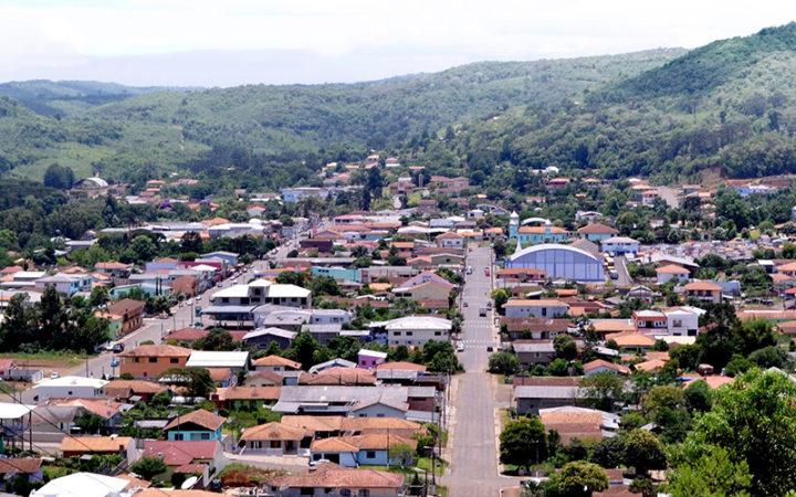 Crime aconteceu no bairro São José, em Cruz Machado (Foto: Reprodução).