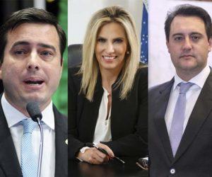 João Arruda, Cida Borghetti e Ratinho Júnior