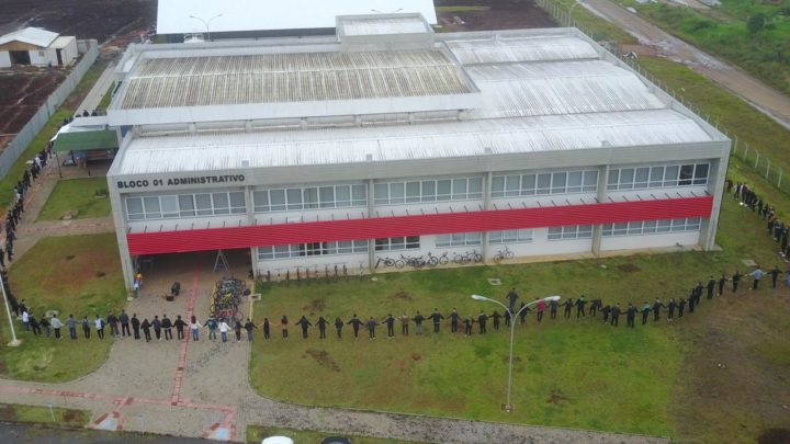 (Foto; Assessoria IFPR - Campus União da Vitória).
