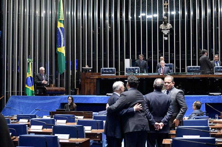 Plenário será comandado pelo primeiro vice-presidente, senador Antonio Anastasia, durante as votações da semana (Foto: Waldemir Barreto/Agência Senado).