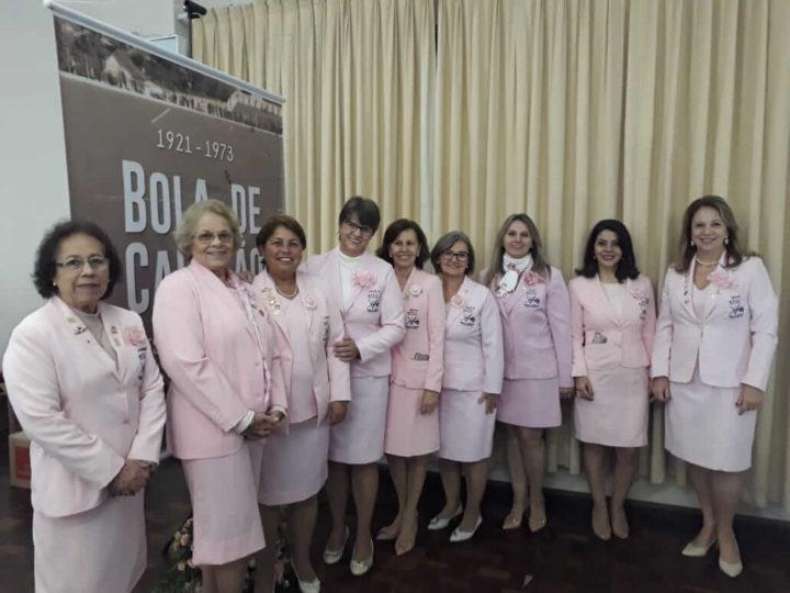 Voluntárias da Rede Feminina de Combate ao Câncer prestigiaram o lançamento