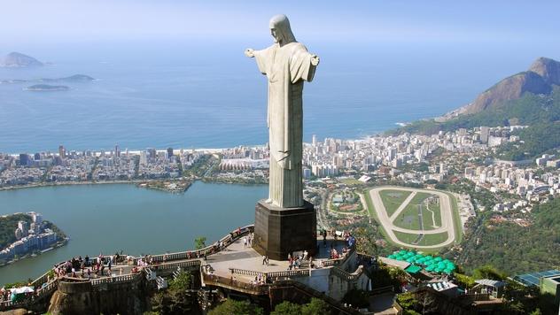 Cristo Redentor, cartão postal do Rio de Janeiro (Foto: Reprodução).