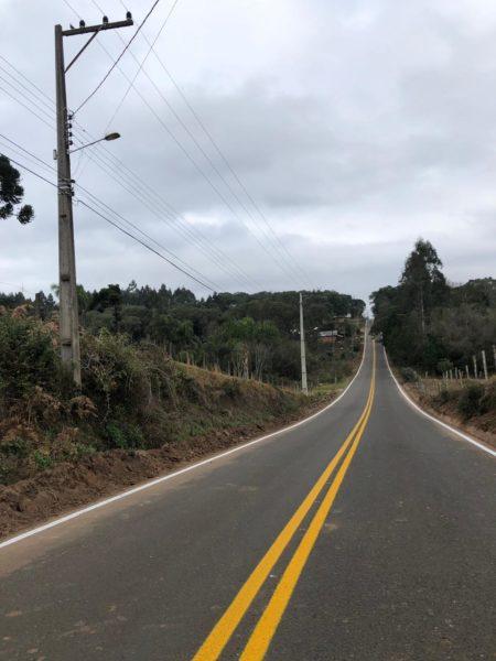 A conservação da via garante a segurança dos motoristas (Foto: Assessoria).