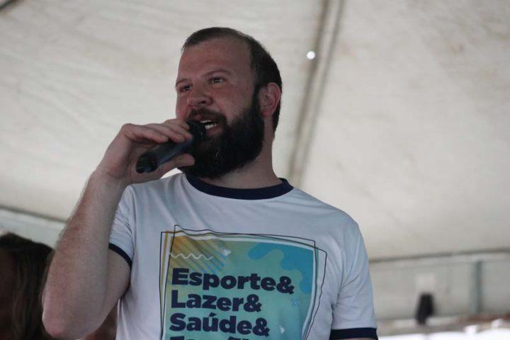 Secretário de esportes de União da Vitória, Cordovan Neto