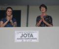 Filha e esposa de Jota Marcondes estiveram na homenagem