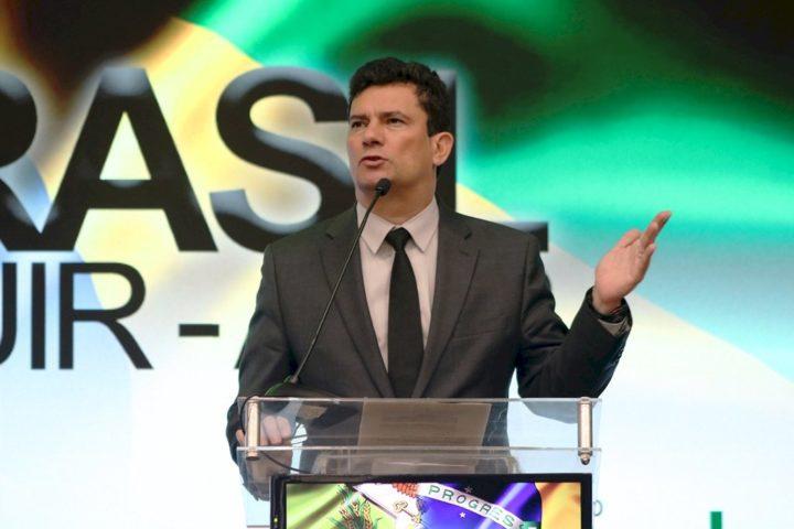 Ministro Sérgio Moro. (Foto: Murici Balbinot/Adjori).