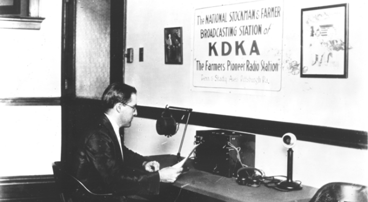 KDKA foi a rádio pioneira americana