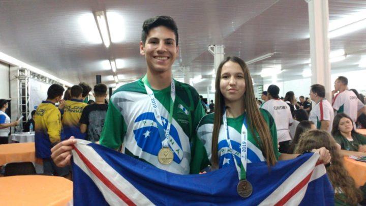 Gustavo Henrique Ferreira e Caroline Leticia Koechkofel