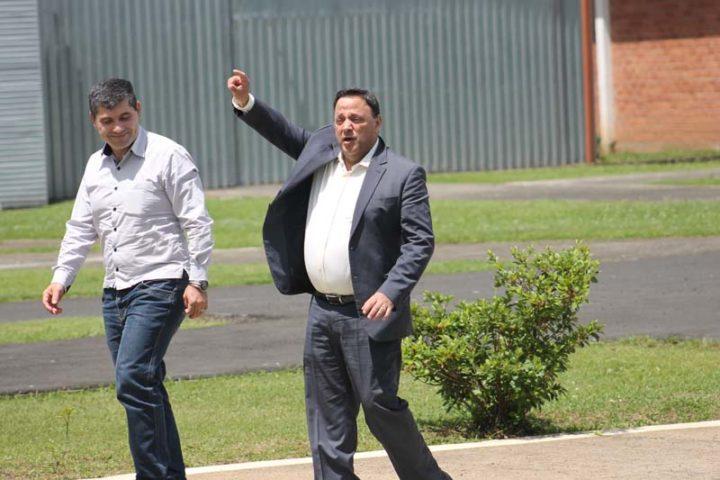 Deputado Hussein Bakri realizou o voo até União da Vitória