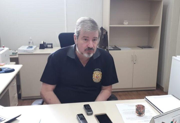 André Villela, delegado chefe da 4ª SDP