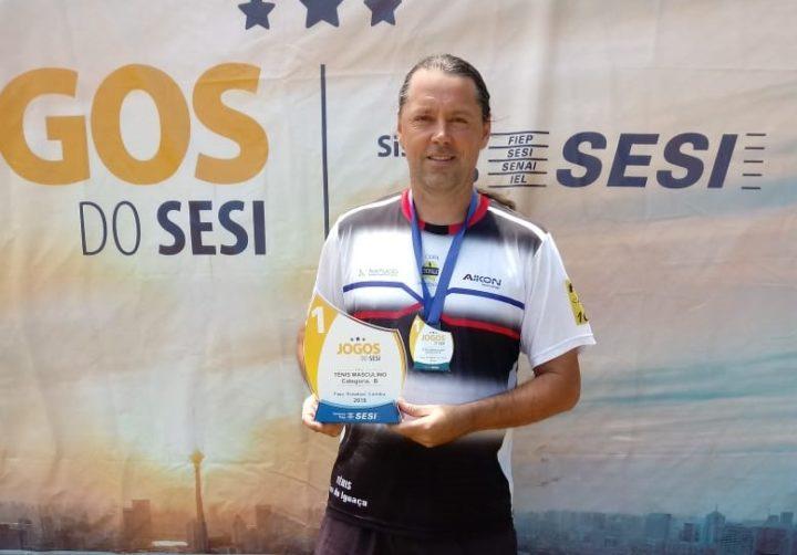 Wiliam Guimarães, heptacampeão tênis cat. B