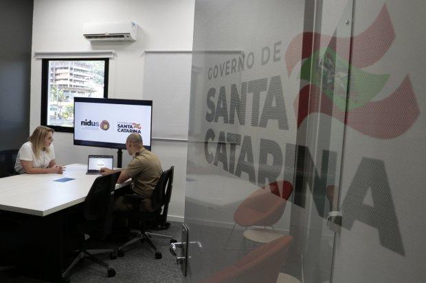 Laboratório de Inovação. Fotos: Mauricio Vieira / Secom