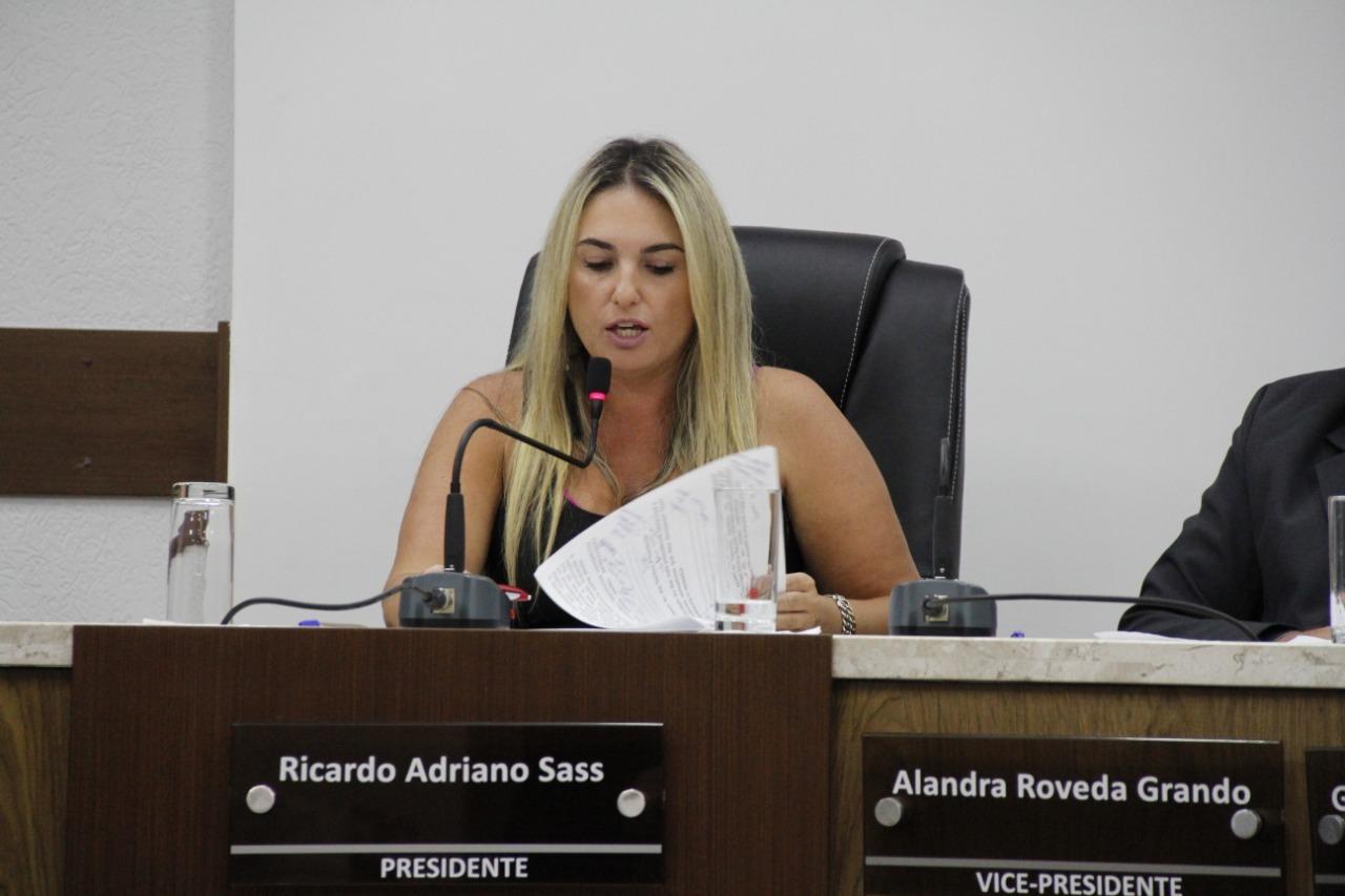 Vice-presidente, Alandra Roveda