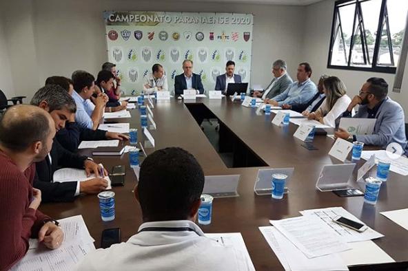 Arbitral do Paranaense em 23 de janeiro. (Foto: FPF).