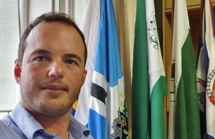Prefeito de Antônio Olinto e presidente da Amsulpar, Fabio Machiavelli