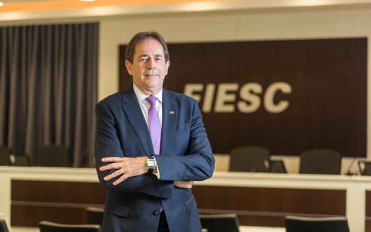Mario Cezar de Aguiar, presidente da FIESC