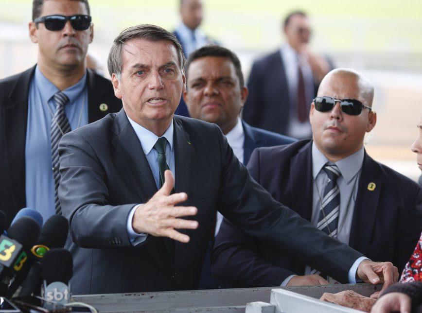 Presidente Jair Bolsonaro. (Foto: Sérgio Lima/Poder360).