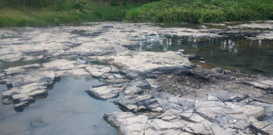 Rio Canoinhas no município de Major Vieira. (Foto: Reprodução).