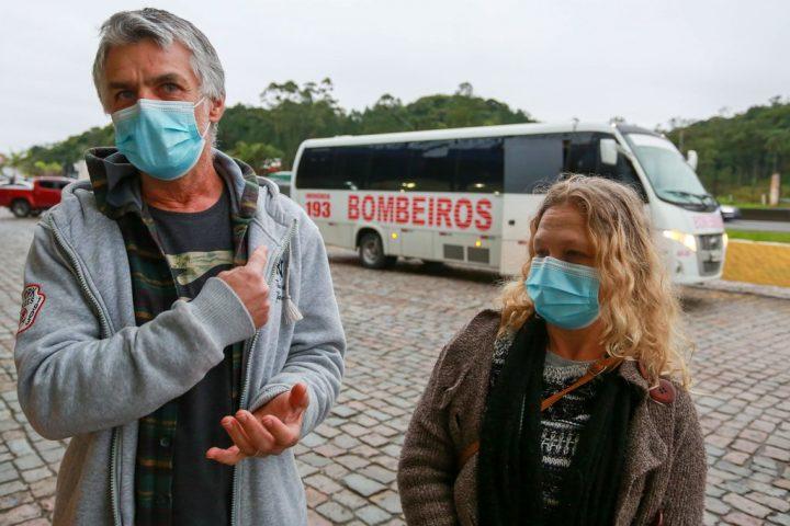 Cesar e Marli voltaram para Jaraguá do Sul