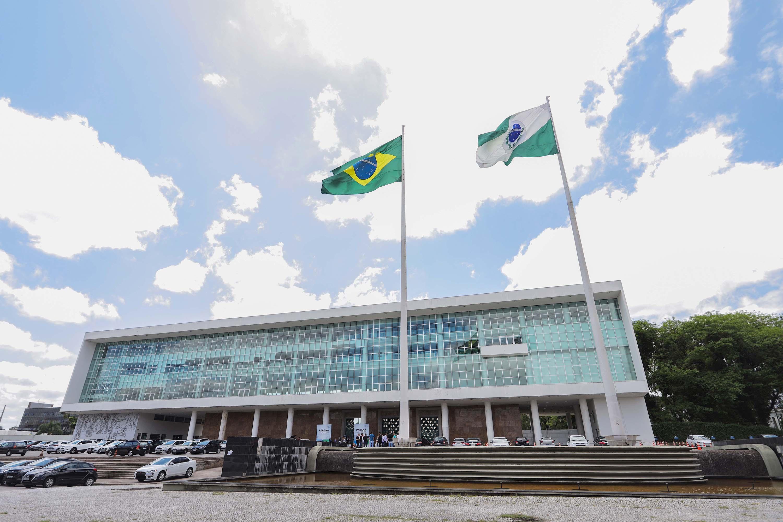 Palácio Iguaçu. (Foto: Arnaldo Alves / AEN).