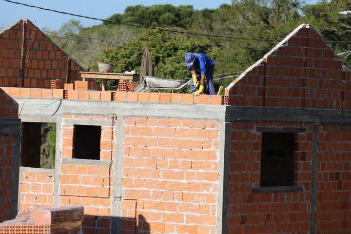 Habita Parana - Programa Estadual de Habitacao - Financiamento Cohapar Residencial São João do Triunfo, 30 casas populares, com dois quartos, sala, cozinha, banheiro e área de serviço externa. Os imóveis são financiados pela Cohapar através do Fundo de Combate à Pobreza. Foto: Geraldo Bubniak/AEN