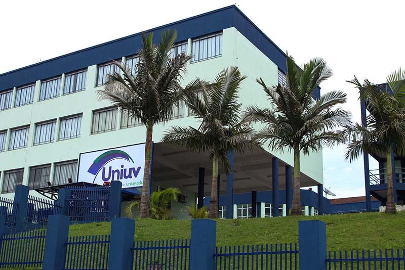 Centro Universitário de União da Vitória - Uniuv. (Foto: Assessoria).