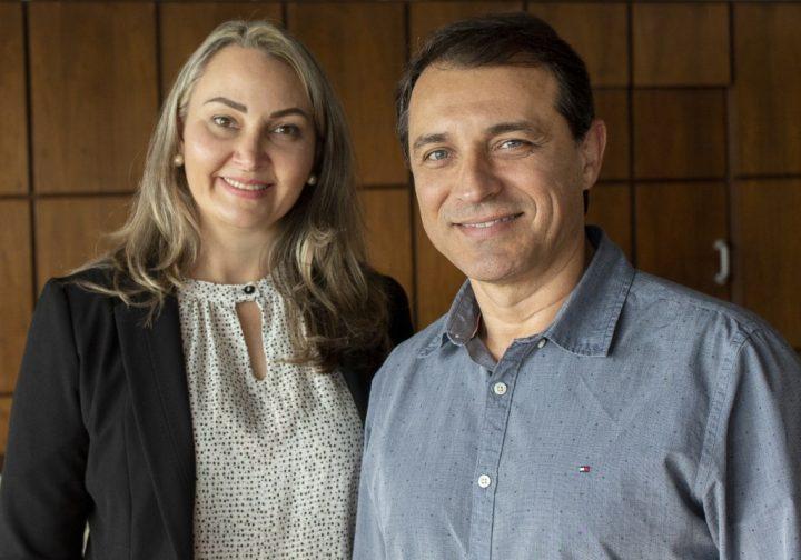 Daniela Reinehr e Carlos Moisés. (Foto: Informefloripa).
