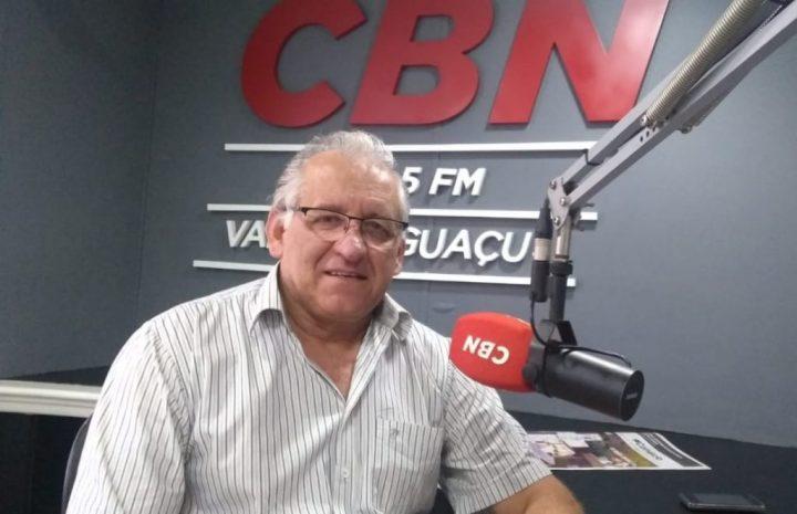 Diretor do campus de União da Vitória da Unespar, Valderlei Garcia Sanches