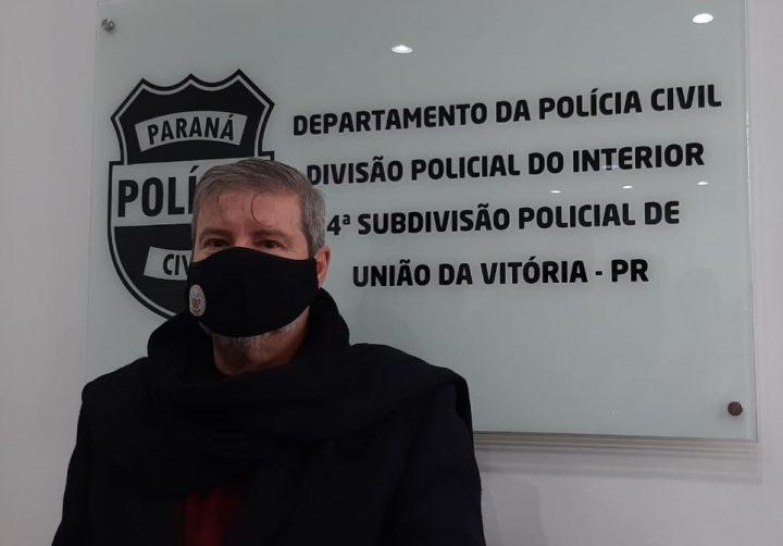 Delegado André Vilela da 4ª SDP de União da Vitória