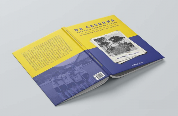 """Livro da 'Da caserna para ser a alegria de um povo – o rugir da pantera azul dourada"""""""